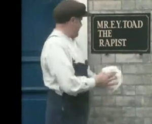 Benny Hill comments on therapist abuse.